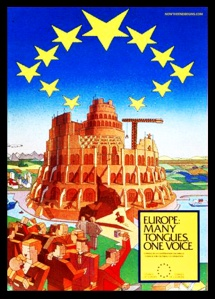 europe-many-tongues-one-voice-parliament-building-tower-of-babel-babylon (1)