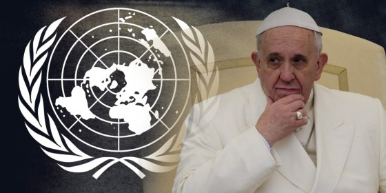 Image result for pope globalist