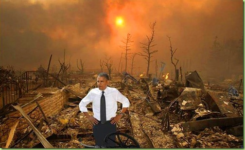 Image result for obama destruction