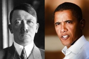 Hitler-and-Obama