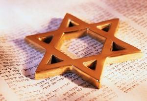 David's Star on Torah ca. 2001