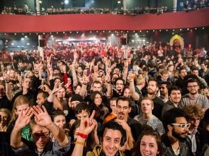 Crowd at Bataclan