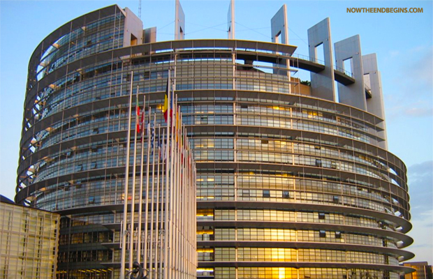 European Union Parliament Building Modeled After Tower Of