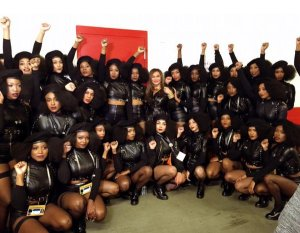 Beyonce's black panther dancers