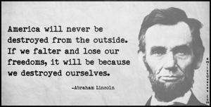 Lincoln's quote