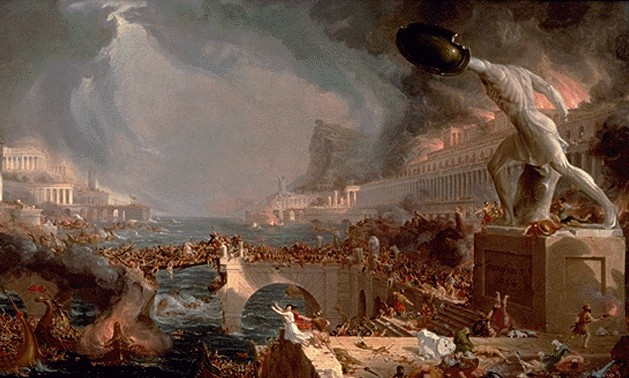 Did homosexuality contribute to the fall of the roman empire